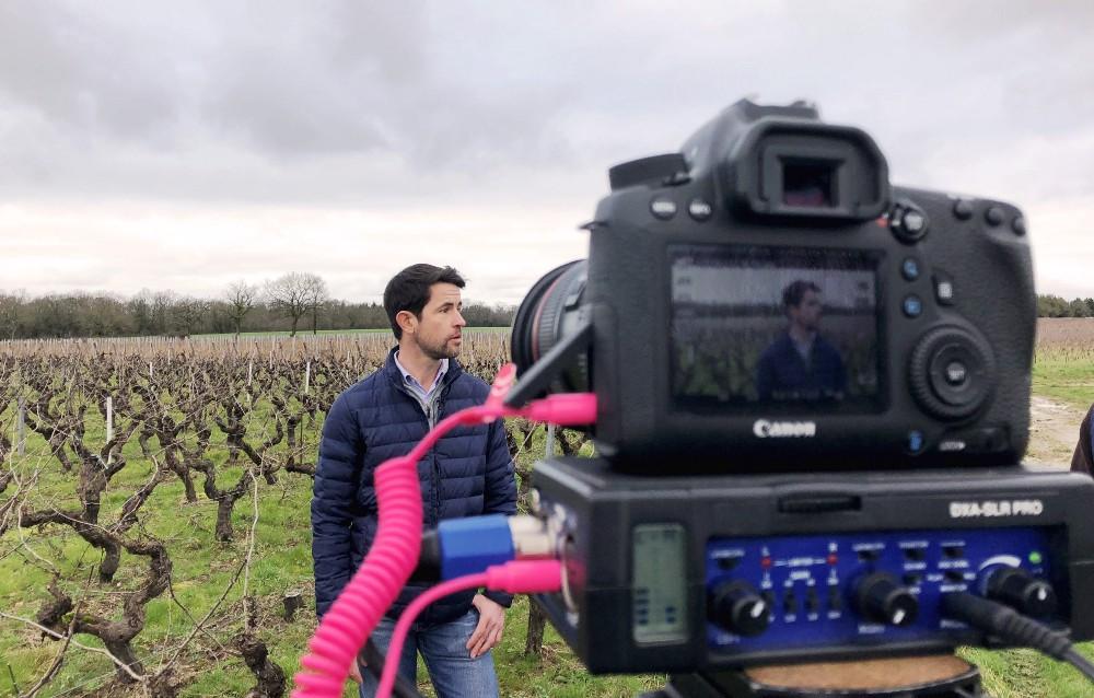 Making-of de notre interview #LoireOnTour—Nicolas Choblet du Domaine du Haut Bourg