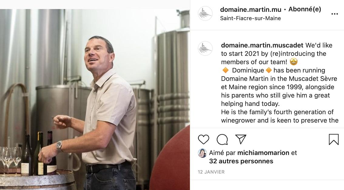 La mission de community management pour le Domaine Martin